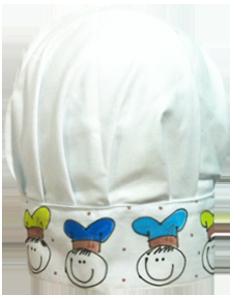 56C04D chapéu chef intantil meninos