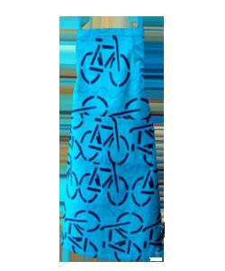 57B798 avental adulto bike azul escuro
