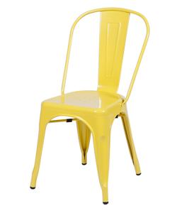 Cadeira Industrial amarela