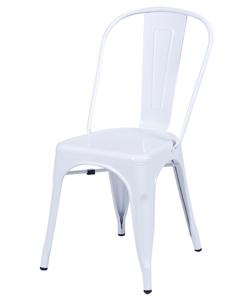 Cadeira Industrial branca