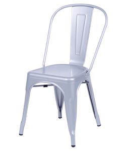 Cadeira Industrial prata