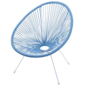 cadeira corda azul