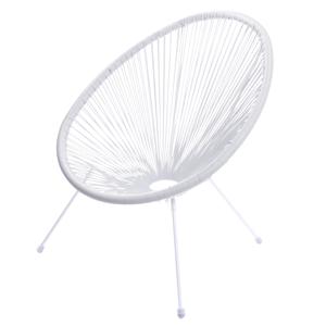 cadeira corda branca