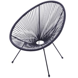 cadeira corda preta