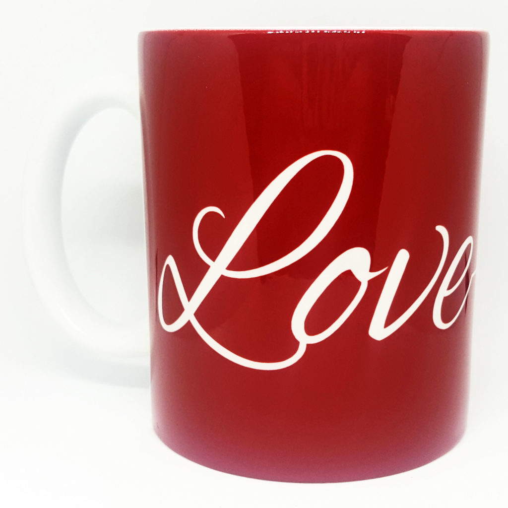 Caneca Love Vermelho