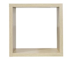 nicho quadrado carvalho prata frente