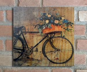 quadro madeira pinus bike