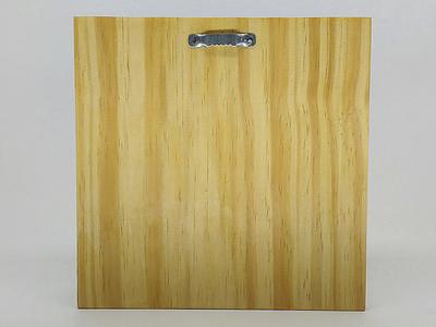quadro madeira pinus detalhe costas