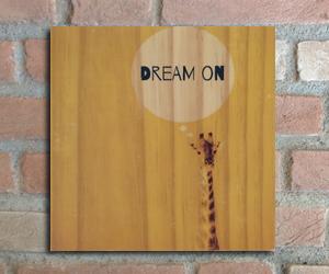 quadro madeira pinus dream