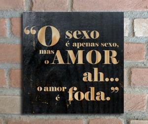 quadro madeira pinus ah o amor