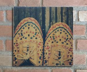 quadro madeira pinus shoes